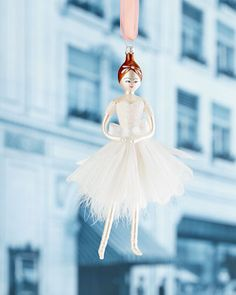 Shop Ballerina Christmas Ornament from De Carlini at Horchow, where you'll find new lower shipping on hundreds of home furnishings and gifts. Magical Christmas, Pink Christmas, Christmas Images, Christmas Time, Vintage Christmas, Xmas, Clothes Pin Ornaments, Ballerina Ornaments, Christopher Radko Ornaments