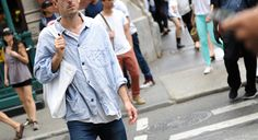 New York City Street Style: August 24, 2015 - Four Pins