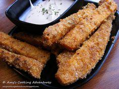 Crispy Breaded Sweet Potato Fries