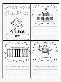 It is time to learn all about our American Symbols this week! American Symbols Mini Video We watched this free video on Brai. Kindergarten Social Studies, Social Studies Activities, Teaching Social Studies, Patriotic Symbols, 1st Grade Science, National Symbols, Study History, American Symbols, First Grade Classroom