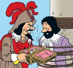 Tintin.com - Personnages secondaires. Red Rackham