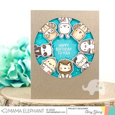 Handcrafted Cards Made With Love: ME STAMP HIGHLIGHT / STACKABLE FRIENDS