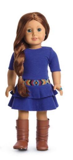 Slippers NIB American Girl Gabriela PJs Pajamas with Tank Top Pants NEW!