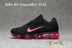 designer fashion ae1f6 93ad3 Nike Air Vapor MAX 2018 KPU Running Women Black Rose Red 36-40