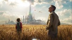 Tomorrowland: nuovo trailer e poster dell'avventura sci-fi Disney con George Clooney