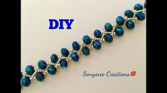 DIY Beaded bracelet Gorgeous ,Stunning , Fantabulous ‍♀️ - YouTube