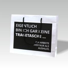 bedruckte Papiertaschen als Werbemittel