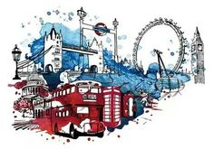London, coming soon. London Logo, London City, London Eye, London Drawing, Skyline Art, Arte Pop, London Calling, London Travel, Travel Posters
