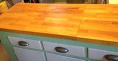 use Lamplig chopping board to cover existing countertop