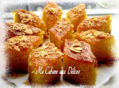 Basboussa gâteau de semoule | Recettes de Cuisine algérienne, orientale et française