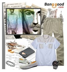 """Men of the City....Banggood #17."" by carola-corana ❤ liked on Polyvore featuring men's fashion, menswear and BangGood"
