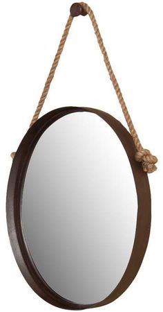 Gordmans Has These For 1 2 Bath Metal Rope Wall Mirror