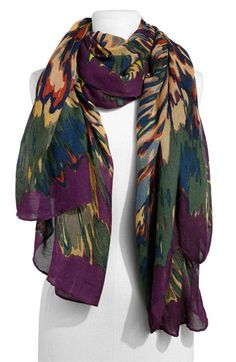 scarf love - these colors are amaze