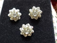 Vintage Rhinestone Snowflake Scatter Pin Set   SelectionsBySusan - Jewelry on ArtFire