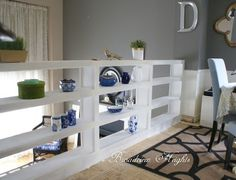 Bookcase Railing DIY
