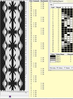 Card Weaving, Weaving Art, Loom Weaving, Basket Weaving, Inkle Weaving Patterns, Weaving Textiles, Loom Patterns, Cross Stitch Geometric, Mochila Crochet
