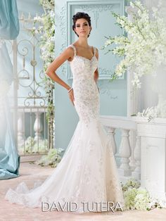 Picture of 116220 - Colesha Wedding Dress - David Tutera for Mon Cheri Spring 2016 Bridal Collection