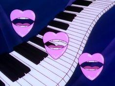 Lips, hearts and piano!
