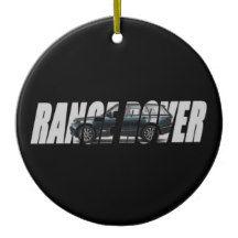 2014 Range Rover Ceramic Ornament