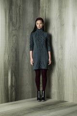 Cable Knit Peter Dress
