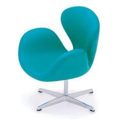 Dollhouse Interior Designer furniture The Swan Chair Arne Jacobsen 1956