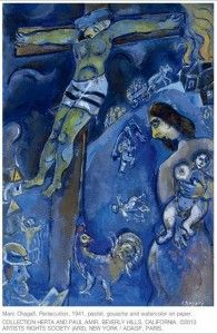 Marc Chagall and the cross 25 Paintings of Marc Chagall and Christ