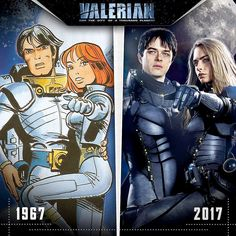 Valerian The Movie and The Comics