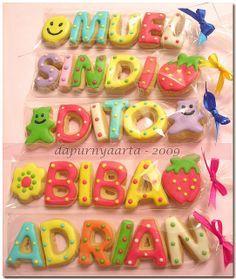 gallery of alphabetical cookies | alphabet cookies - Endah | Flickr - Photo Sharing!