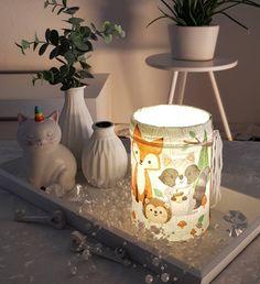 Planter Pots, Etsy, Vintage, Night Light, Lights, Craft Gifts, Vintage Comics