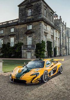 Visit The MACHINE Shop Café... ❤ Best of McLaren @ MACHINE ❤ (The McLaren P1 GTR Race Car)