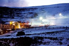 Snow making at Afriski How To Make Snow, Mountain Resort, Africa Travel, Winter Wonderland, South Africa, Skiing, Bucket, Outdoor, Board