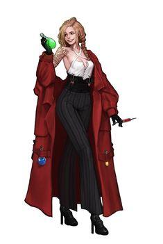 Female Character Design, Character Design Inspiration, Character Art, Dnd Characters, Fantasy Characters, Female Characters, Illustration Mode, Character Illustration, Digital Illustration