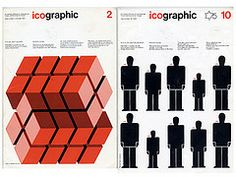 Icographic Magazine 1971 - 1978 – Voices of East Anglia Striped Walls, Visual Communication, Graphic Art, Eyeshadow, Illustration, Wall Stripes, Magazine Covers, Infographics, 1970s