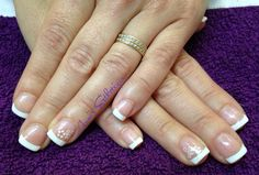 French manucure vernis semi permanent Shellac