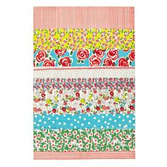 Daisy Stripe Peony Kids Area Rug design by Designers Guild