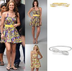 Reversals of Fortune : Blair Waldorf (Leighton Meester) in an Alice + Olivia floral dress