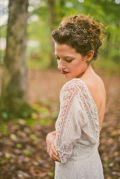 Beautiful bridal headpiece | Danielle Real Photography