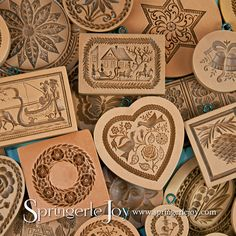 Springerle Joy offers over 1000 molds to choose from for baking or crafts! The possibilities are endless!