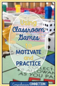 Using Reading Games adds motivation and interest to classroom practice. Check out this post for game ideas you might try out.