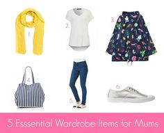 5 Essential Wardrobe Items for Mums