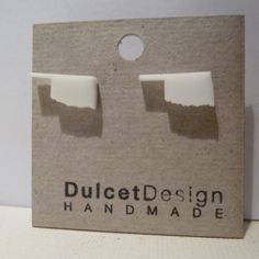Dulcet Design Oklahoma Earrings #handmade #madeinusa #okie