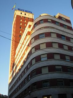 Torre Littoria, built in 1934 - Turin - Italy