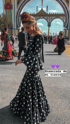 Dressy Outfits, Fashion Outfits, Flamenco Costume, October Fashion, Valentines Day Weddings, Feminine Dress, Spanish Style, How To Look Classy, Wedding Day