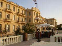 Winter Palace Hotel, Luxor, Egypt.  Taken in 2009