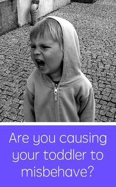 Are you inadvertently causing your young child to misbehave? If you're doing 1 of these 4 things, YES! #parenting #kids
