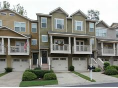 Liberty Park Townhome in Atlanta, GA Atlanta Condo, Moving To Another State, First Home, Townhouse, Loft, Mansions, Liberty, Architecture, Luxury