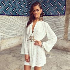 Behind the scenes of our SS 15/16 with Talia Richman, wearing the Gypsy Dress, Monaco Body Chain and Monaco Earring, available in Boutiques and Online! Xx