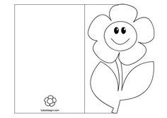 Lindos cartões para imprimir e dar para a criançada colorir e enfeitar para dar de lembrancinha para a mamãe.                     Fonte:ht...