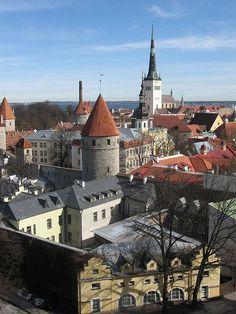 Old Town - Tallin, Estonia