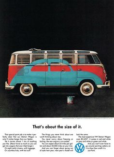Volkswagen T1 Samba: That's about the size of it.
